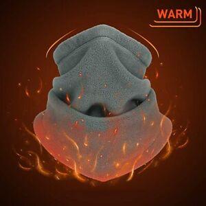 Winter Neck Warmer Gaiter Polar Fleece Ski Face Mask Snowboard Cold Weather US
