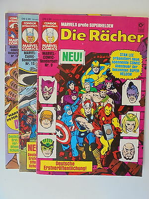 Marvel Comic Sonderheft Nr.15 Die Gruppe X Condor Verlag Zustand 1-2