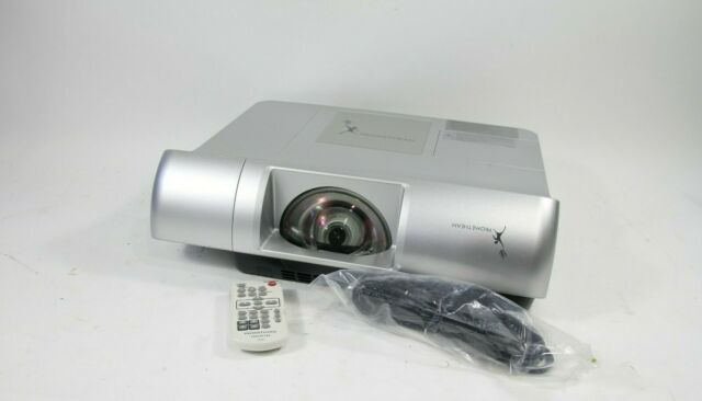 Promethean PRM-30 Short Throw Home HDMI Theater Projector With New Lamp Remote