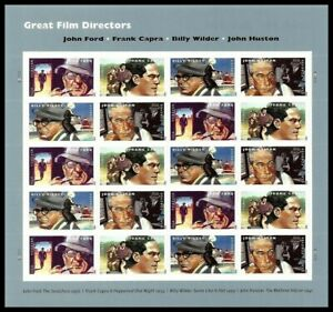 Great-Film-Directors-Sheet-of-20-Forever-Stamps-Scott-4668-4671