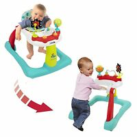 Kolcraft Baby Walker Activity Center 2 In 1 Trainer Toy Child Infant Toddler Kid