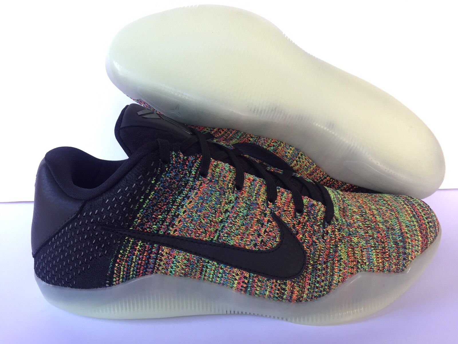 NIKEiD KOBE ELITE LOW BLACK/MULTICOLOR [ 903710-993 ] US MEN SZ 10