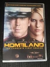 Homeland: The Complete First Season (DVD, 2012, 4-Disc Set) Season 1