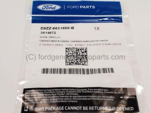 Genuine OEM Ford Knob D9ZZ-6621850-B