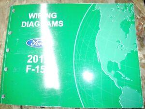 2012 FORD F-150 ORIGINAL FACTORY WIRING DIAGRAMS MANUAL ...