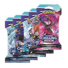 144 Chilling Reign Booster Sleeved Pack CASE Pokemon Sword & Shield PRESALE 6/18