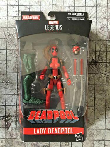 2018 Marvel 6 inch Legends Deadpool Wave 2 BAF Sauron Lady Deadpool Non Mint