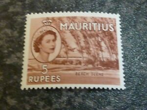 MAURITIUS-POSTAGE-STAMP-SG305-5R-VERY-LIGHTLY-MOUNTED-MINT