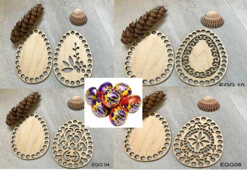 base Y Tapa Base de ganchillo para hacer huevos de Pascua cestas 15cm alto 1set