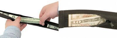 Travelon Security-Friendly Money Belt 38-40 Inch Waist,Black,One Size 42350-Black-One Size