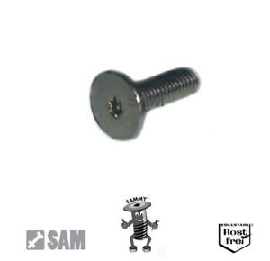 Sammy® Schrauben großer und sehr niedriger Flachkopf TORX A2 Edelstahl V2A M2,5
