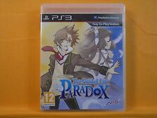 ps3 GUIDED FATE PARADOX The Dungeon Crawler RPG Game PAL UK Version REGION FREE
