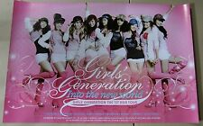 Girls Generation (SNSD)- Into the New World  / OFFICIAL POSTER *HARD TUBE CASE*