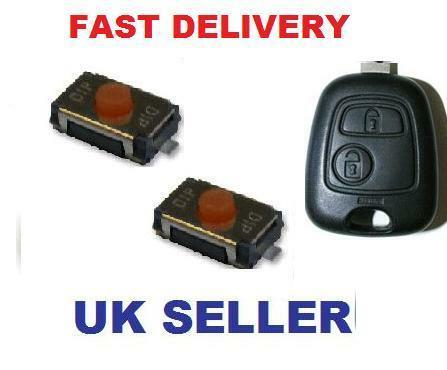 Peugeot 206 207 307 407 Remote Key Fob Repair Switches only Fob not for sale