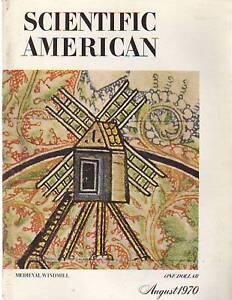 1970 Scientific American August-Origin of Personality | eBay
