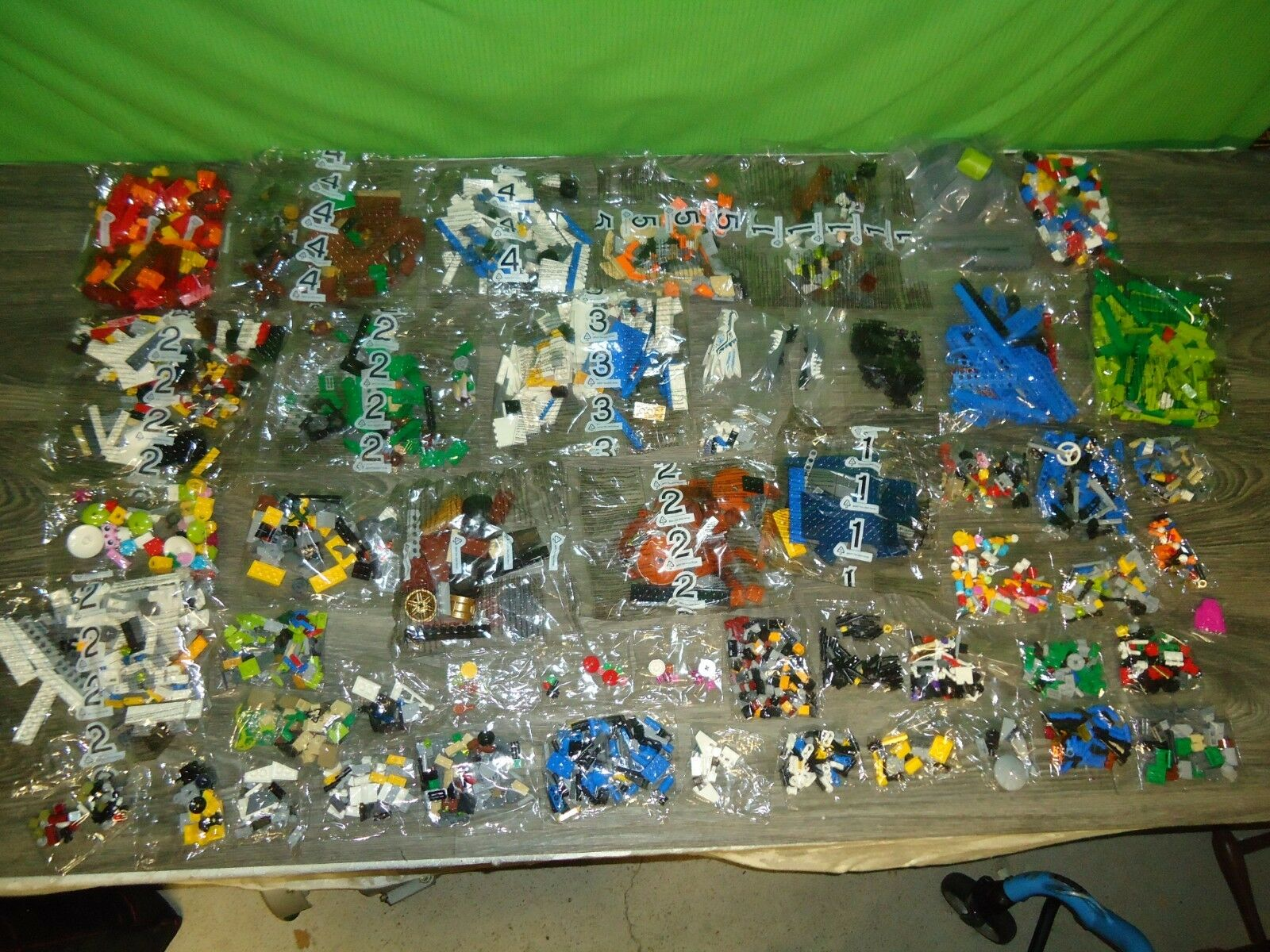 Lego misb lot of factory sealed baggies bags