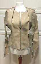 Maison Martin Margiela for H&M Lederjacke Pattern Cut Jacket Jacke EUR 42 US 12