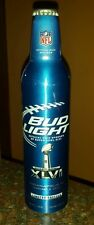 Bud Light NFL 2012 Super Bowl 46 aluminum 16 oz bottle - Limited Edition