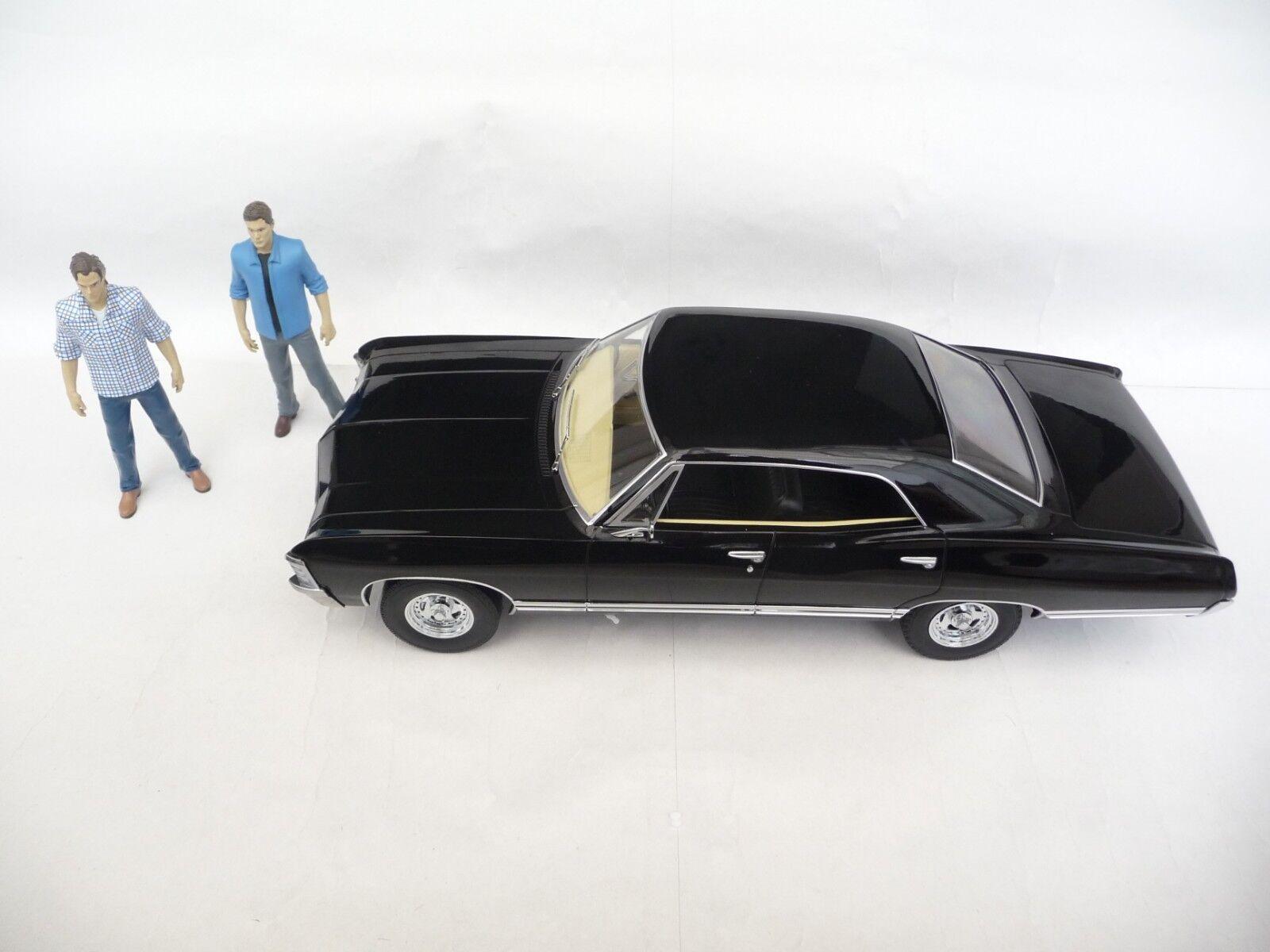 Lumière  verte 1 18 Chevrolet Impala Berline 1967 noir Supernatural GL19021  produit de qualité d'approvisionnement