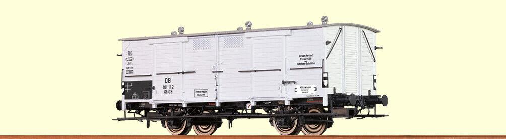 NEU /& OVP Brawa H0 Art 48652 Milchwagen  der DB