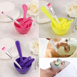 4-in-1-Makeup-DIY-Facial-Mask-Mixing-Bowl-Brush-Spoon-Stick-Tool-Face-Care-Set