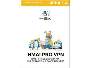 AVG HMA Pro VPN Software