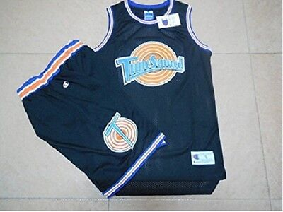 Youth Basketball Jersey #1 Moive Space Jam Jerseys Bugs Bunny Sport T-Shirts