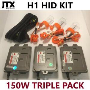 H1 JTX HID Kit TRIPLE PACK 150W