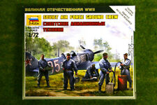 Zvezda SOVIET AIRFORCE GROUND CREW & Accessories 1/72 scale 6187