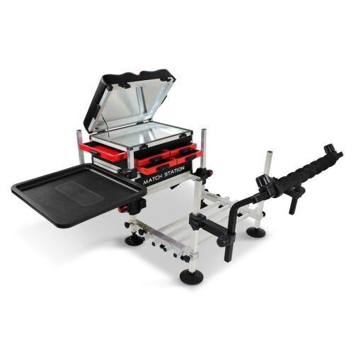 Match Station AS5 Drawer RED Alloy Pro-Sport Seat Box Footplate Spray Bar /& Tray