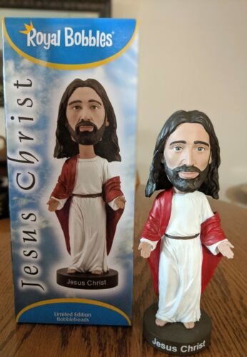 "Jésus-Christ version 2 Bobblehead-ROYAL BOBBLES 7.5/"" LIMITE EDITION ~ Free Ship"