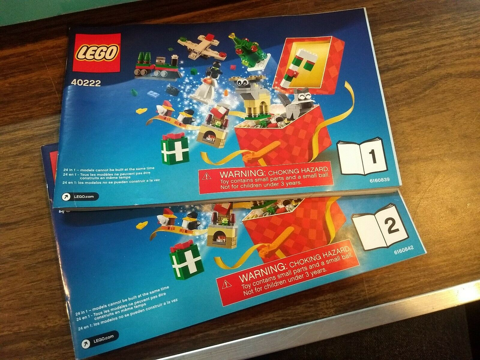 Lego 40222 Christmas Build Up 24 in in in 1 NEW 63744d