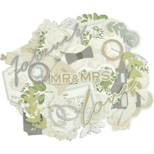 WEDDING Collectables 40 Paper Die Cuts Paper Crafts KAISERCRAFT CT958 New
