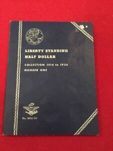 Whitman-9021-35-Liberty-Standing-Half-Dollar-Coin-Folder-1916-1936