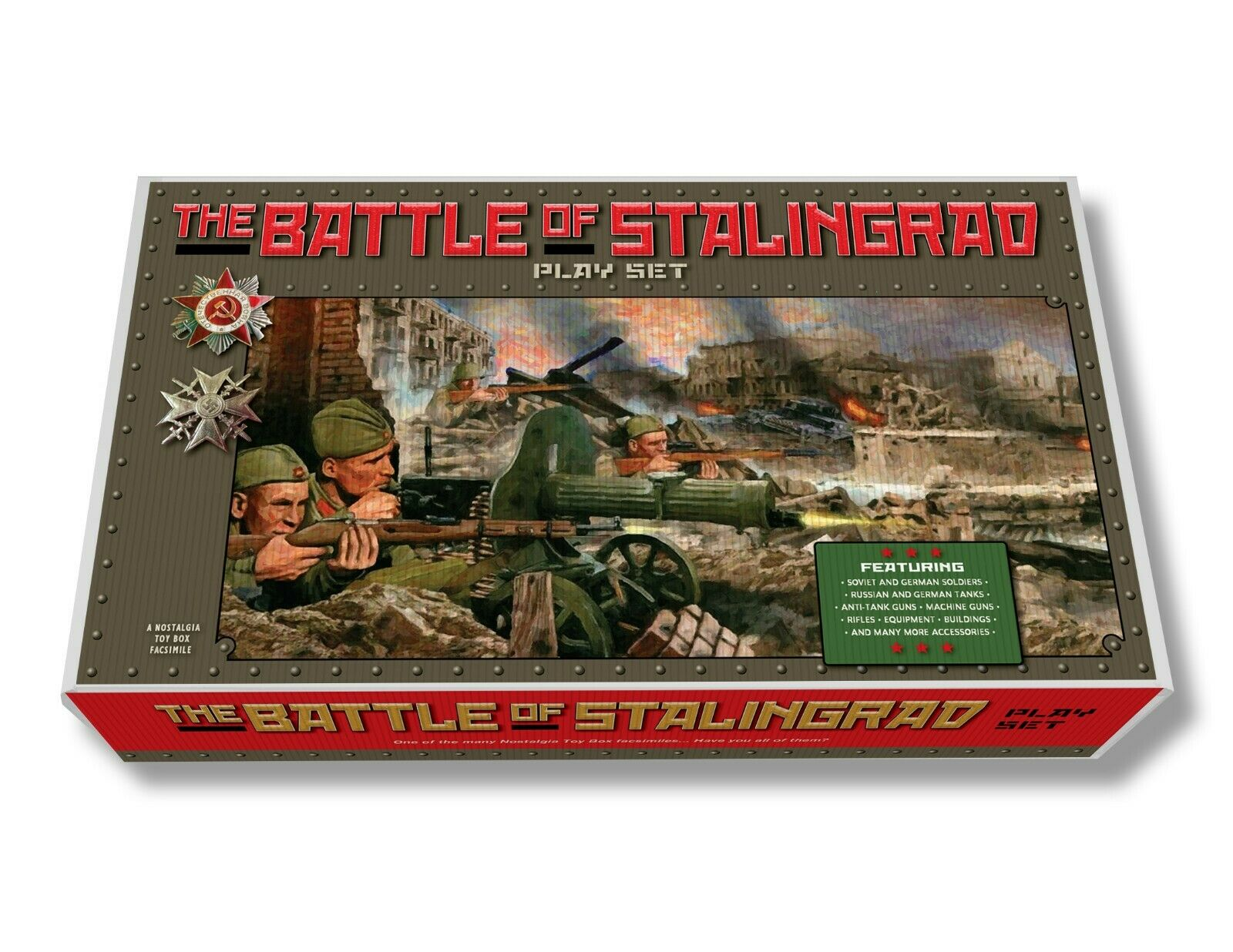 Marx Battle of Stalingrad Play Set Box