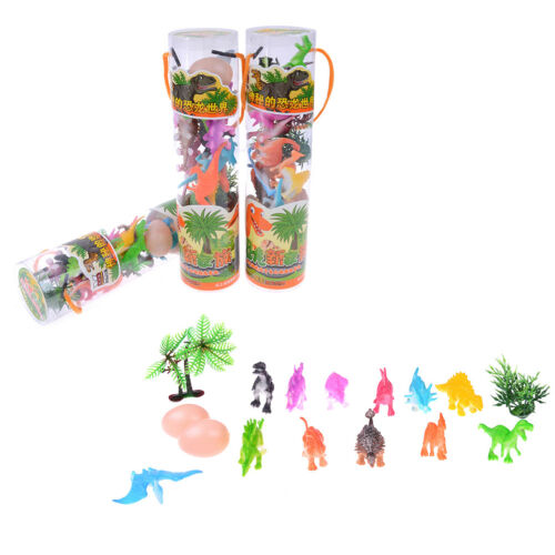 16Pcs//set kids dinosaur toy 6cm pvc action figure toys learning for toddlers