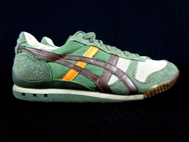 4f666705 Asics Onitsuka Tiger Ultimate 81 Men's Running Shoes Moss/Green/Brown Size  7.5
