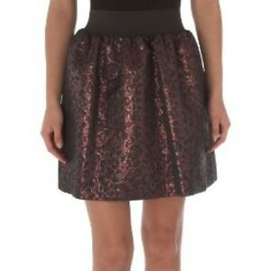 Pied-A-Terre-RRP-80-House-of-Fraser-Dark-Purple-Red-Brown-Cocktail-Party-Skirt