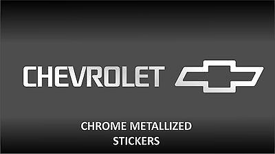 CHEVROLET chrome body glass decal stickers Captiva Aveo Cruze Spark Matiz Epica