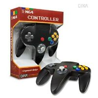 Black Cirka Long Handle Controller Control Pad Gamepad For N64 Nintendo 64