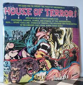 HOUSE OF TERROR ! SEALED LP VINTAGE RECORD PARADE PA 103 HALLOWEEN HAUNTED