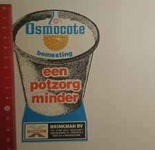 Aufkleber/Sticker: Osmocote bemesting een potzorg minder (2201176)