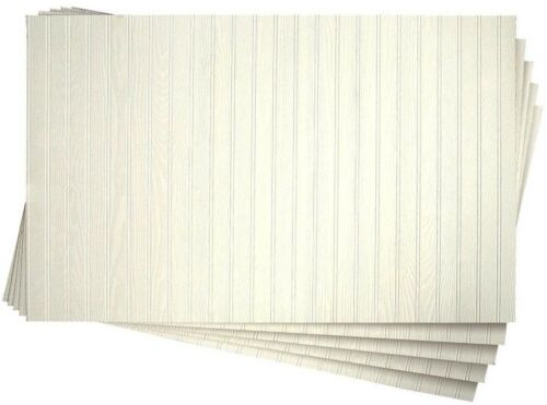 5-Pack White Wainscot Panel 3//16 in x 48 in DPI Pinetex Hallway Foyer x 32 in