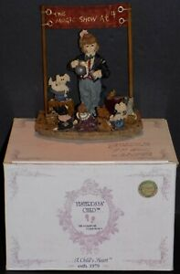BOYD-039-S-YESTERDAY-039-S-CHILD-THE-AMAZING-BAILEY-034-MAGIC-SHOW-AT-4-034-FIGURINE