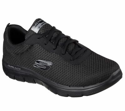 Skechers Sport mens Flex advantage 2.0 dayshow sneakers zapatos caballero negras | eBay