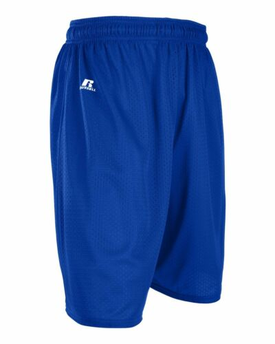 Soccer Russell Athletic Rugby Basketball Men/'s S-XL 2X 3XL Mesh Shorts Gym