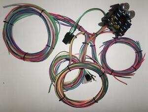 12 circuit ez wiring harness chevy mopar ford hotrods universal x rh ebay com