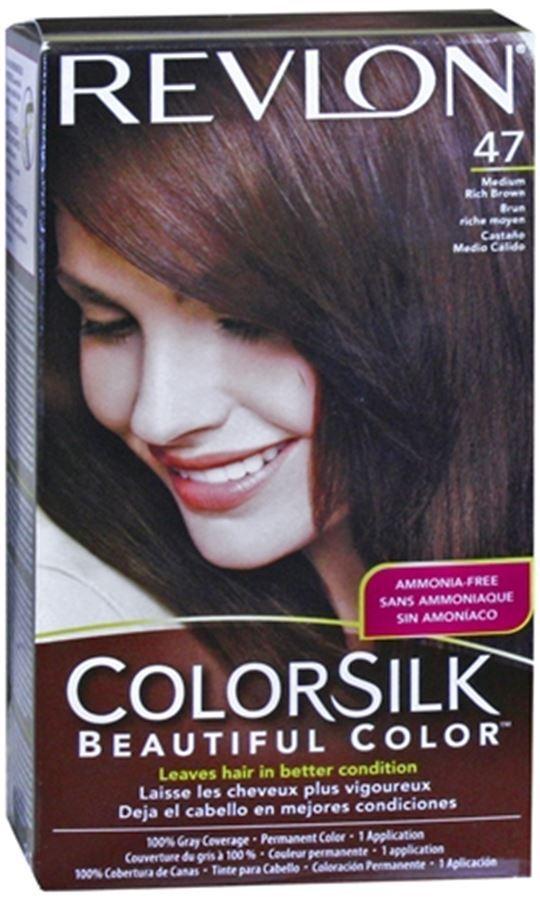 Revlon Colorsilk Hair Color 47 Medium Rich Brown 10c Ebay