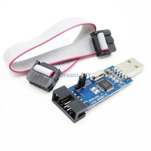 USB-ASP-ISP-51-AVR-Programmer-Adapter-Downloader-ATMEGA8-ATMEGA128-Arduino-cable