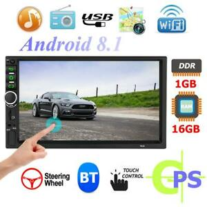 Android-8-1-Autoradio-7-034-GPS-Navigation-Bluetooth-GPS-2DIN-USB-FM-MP5-Player